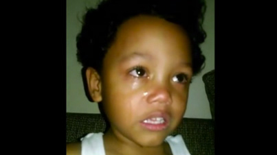 Too Funny: Devastated Little Kid Thinks He Got A Girl Pregnant By Kissing Her