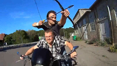 Absolutely Insane: Dude Shows Off His Amazing Archery Skills