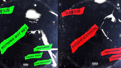 High Fashion & Nothing But Net by Travi$ Scott Ft. Future, Young Thug (Official Audio)