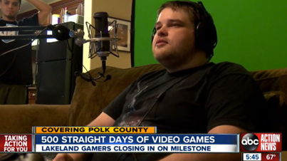 Three Gamers Take Shifts Playing Video Games 24/7 For 500 Days Straight