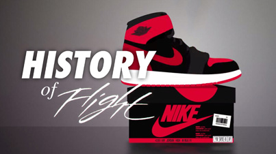 A History Of Flight: An Animated History of Nike's Air Jordan Shoes (1984-2015)