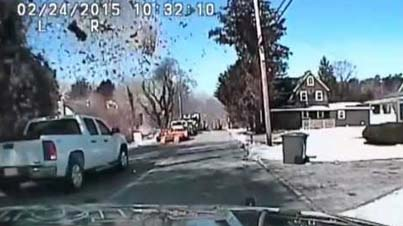Caught On Film: House Destroyed By Massive Gas Explosion In New Jersey