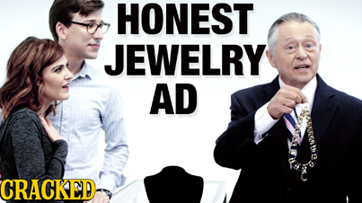 Rocks Shaped Like Stuff: If Jewelry Commercials Were Honest