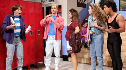 Jimmy Fallon Reunites The Cast From Saved By The Bell