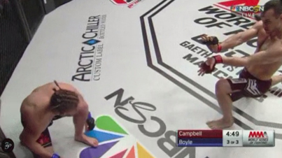MMA Fighter Hadouken's An Opponent Before Beating The Sh*t Out Of Him