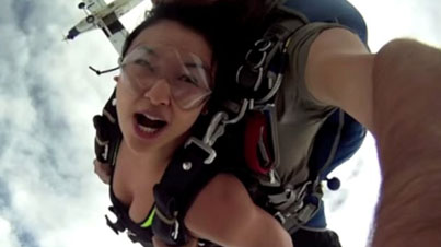 WTF Was The Pilot Thinking: Skydivers Almost Get Sliced Up By The Plane They Just Jumped Out Of