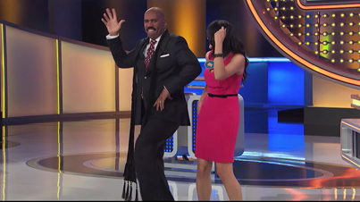 Ride The Pony: Steve Harvey Shows Off His Bollywood Dancing Skills On Family Feud