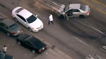 GTA In Real Life: Stolen Vehicle Suspect Leads LAPD On A Wild Car Chase