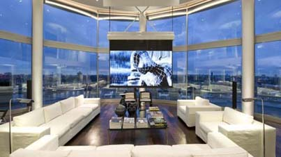Luxury Real Estate: This Is What A Multi-Million Dollar High-Rise Penthouse Looks Like
