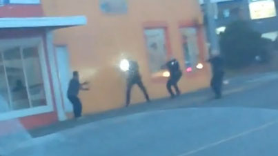 Raw Footage: Washington Cops Fatally Shoot Man Who Threw Rocks At Them