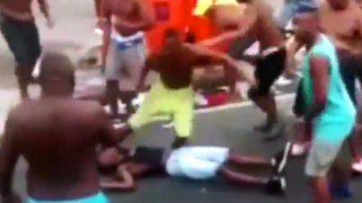 Meanwhile In Brazil: Wild Brawl Breaks Out During Rio De Janeiro Carnival