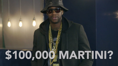 Most Expensivest Shit: 2 Chainz And Big Sean Drink $100K Martinis With Diamond-Infused Vodka