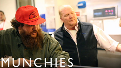 Mr. Wonderful Inspired Cuisine: Action Bronson & Mario Batali Make Pizza