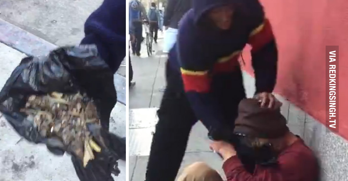Meanwhile In San Francisco: Crackhead Smashes Another Dude In The Face With A Garbage Bag Full ...