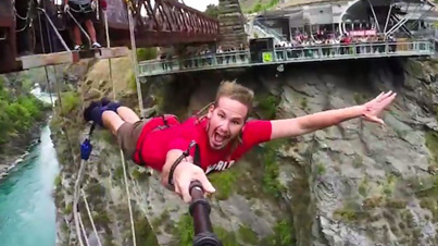 Epic: Extreme Bungee Jumping And Cliff Swing Shenanigans In New Zealand