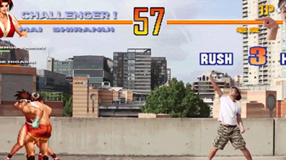 Incredible: Guy Inserts Himself Into Street Fighter To Fight Video Game Characters