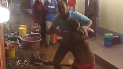 Heartless Man Beats Wife To Death For Cheating On Him While Neighbours Watch
