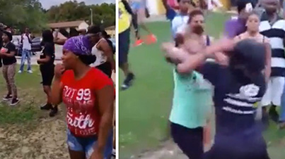 Ratchet Chronicles: Huge Female Brawl Breaks Out In Florida