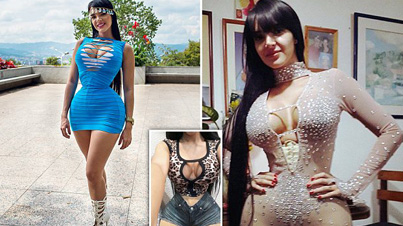 Extreme Waist-Training: Model Wears A Corset For 23 Hours A Day To Achieve A 20 Inch Waist