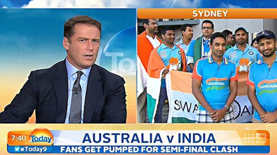 Who Is Going To Be Manning 7 Elevens Today: News Anchor Gets Blasted Online For Being Racist To Indian Cricket Fans