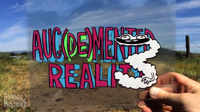 Aug(De)Mented Reality 3: Stop Motion Animation Merged With Hand-Illustrated Cels