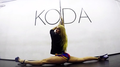 Impressive: This Flexible Pole Dancer Has Some Serious Moves