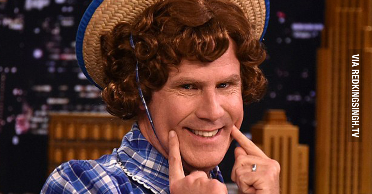 King Of Dirt >> Awkwardly Hilarious: Will Ferrell Dresses As Little Debbie On The Tonight Show With Jimmy Fallon ...