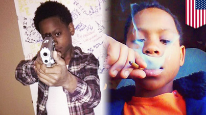 Shorty Wanna Be A Thug: 13-Year-Old Boy From Memphis Flashes Guns And Drugs On Social Media