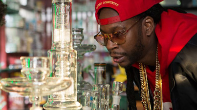 Most Expensivest Shit 2 Chainz Smokes Out Of A 10000 Bong