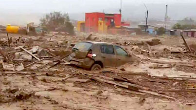 7-Years Of Rain Fell In 12 Hours: Avalanche Of Water And Mud Flood The Atacama Desert In Chile