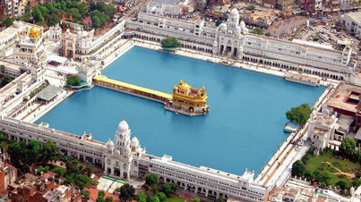 In The Supreme We Trust: Breathtaking Aerial Footage Of The Golden Temple In India