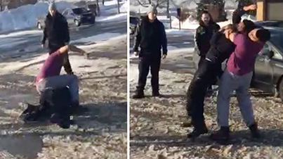 Just Another Day In Brampton: Dude Gets Put To Sleep For Talking Sh*t In His Music Videos