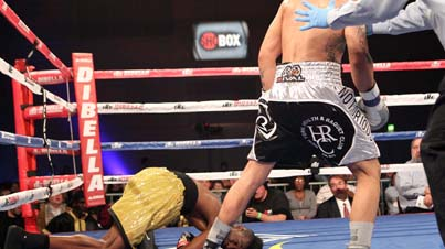 Caught Him Sleeping: Frank Galarza Knocks Out John Thompson Early In The 2nd Round