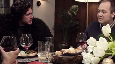 Winter Is Coming: Seth Meyers Brings Jon Snow To A Dinner Party And Is A Total Buzz Kill