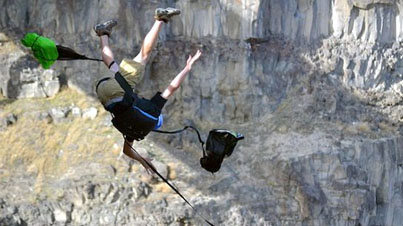 Lucky To Be Alive: Two Base Jumpers Break Their Backs When Their Parachutes Get Tangled
