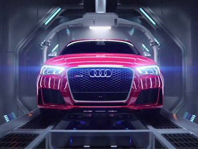 WTF Did I Just Watch? An Audi R8 Gives Birth To An RS3 Sportback