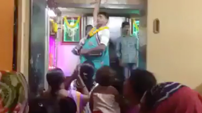 Meanwhile In India: Crazy Guy Manhandles An Infant And Spins Him Like A Helicopter