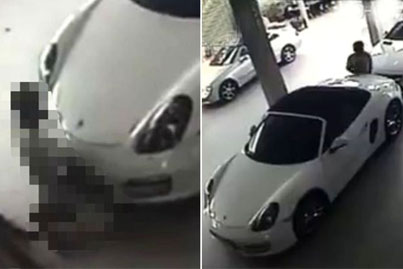 A Modern Love Story: Crazy Man Caught On Camera Having Sex With A Porsche (*Warning* Must Be 18 Years Or Older To View)