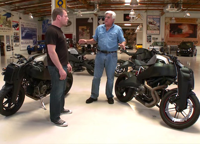 Jay Leno Loves His Motorcycles: Introducing The Radically Modified Buell Called The Ronin 47