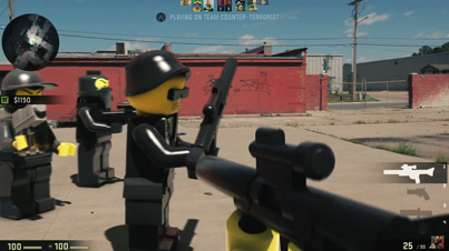 Awesome: LEGO First Person Shooter