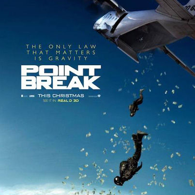 Point Break (Starring Teresa Palmer, Luke Bracey) (Official Movie Trailer)