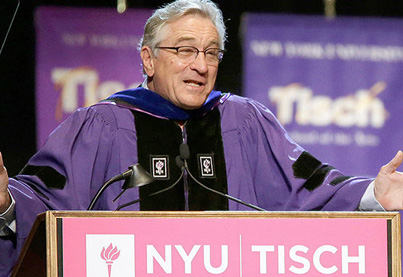 You're F*cked: Robert De Niro Gives Amazing Speech To Acting Graduates