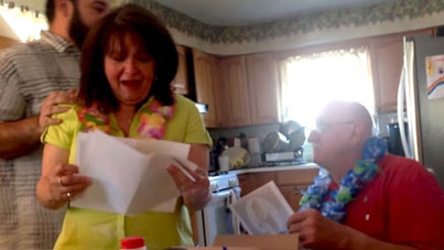 Real Kings Give: Son Surprises Parents On Their 50th Anniversary With A Trip To Hawaii