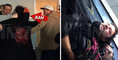 "Bam Margera Knocked Out Cold For ""Being A Jackass"""