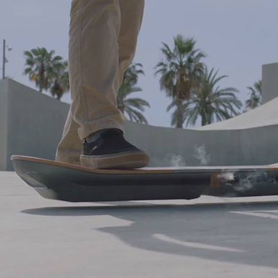 Lexus Creates A Real Rideable Hoverboard
