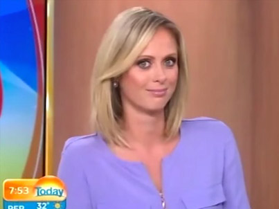 Did You Swallow? Lisa Wilkinson Leaves The Men On The Today Show Speechless