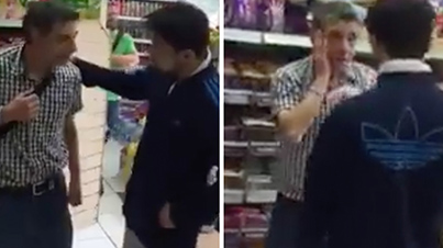 Justified Or Wrong? Man Gets Slapped Up By Angry Shop Owner For Stealing