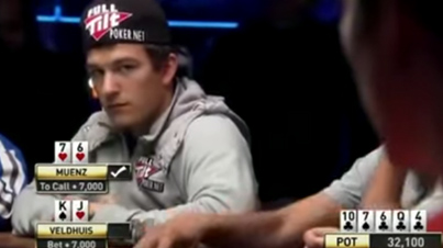 Poker Player Crushes Souls With 5 Straight Bluffs