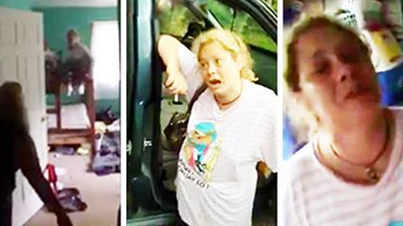 Psycho Mother Threatens To Kill Children Just For Taking Her Phone