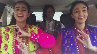 Three Girls Lip Sync Some Of The Most Classic Punjabi Songs